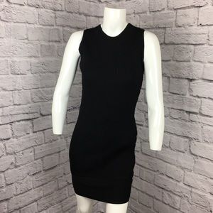 SHOSHANNA SLEEVELESS SWEATER BODYCON SHEATH DRESS